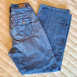 Levi's 512 Boot Cut Perfectly Slimming jeans